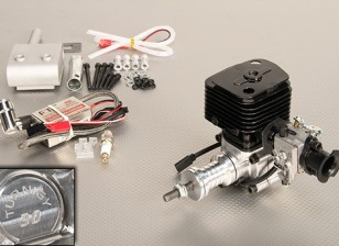 Turnigy 30cc Gas engine w / CDI elektronische ontsteking en Genuine Walbro Carburateur