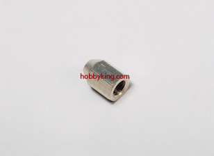 Brass Nut voor spinners M8x1.25-M3 (1 st)
