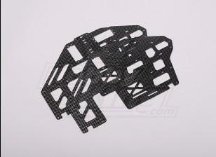 HK-500 GT Carbon Fiber Main Frame (Lijn deel # H50027)