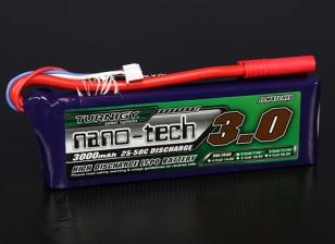 Turnigy nano-tech 3000mAh 3S 25 Pack Lipo ~ 50C
