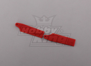 450 Size Heli Red Tail Blade (paar)