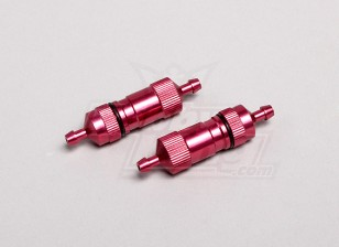 Grote Boring / capaciteit Gas Filters (Rood) (2 stuks / zak)