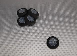 Light Foam Wheel Diam: 55, Breedte: 18,5 mm (5 stuks / zak)