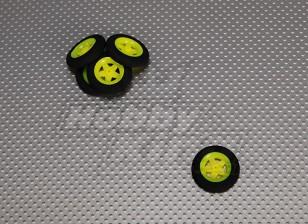 Super Light 5 Spoke Wheel D30xH7 (5pcs / bag)