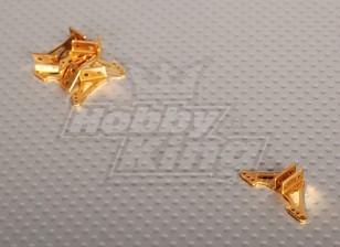 Alloy Horn L13.5 x H14mm (5 paar / zak)