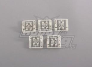 Servo Mount (5pcs / bag) voor Mini Servo 9g, tot 24mm