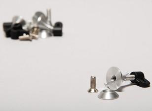 Extra sterke controle Horns 2.8x15mm (5 stuks)