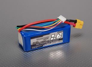 Pack Turnigy 1600mAh 4S 30C Lipo