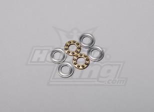 HK-500 GT Thrust Bearing 12 x 5 x 4 mm (Lijn deel # H50004)