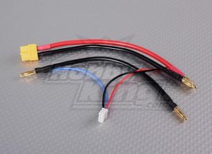 XT-60 Plug harnas 2S Hardcase Saddle pakken LiPoly Batterijen