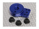 Blue Aluminium Heavy Duty Servo Saver