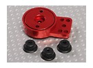 Red Aluminium Heavy Duty Servo Saver
