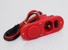 Heavy Duty RX-switch met Charge Port & Fuel Dot Red