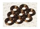 Verzonken Washer geanodiseerd aluminium M3 (Titanium Kleur) (8 stuks)