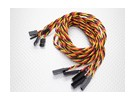 Twisted 80cm Servo Extension Lead (JR) 22AWG (5pcs / set)