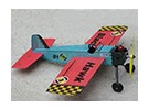 Black Hawk modellen Stunt Trainer Controle Line Balsa 457mm (Kit)
