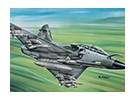 Italeri schaal 1/72 Mirage 2000 D plastic model kit