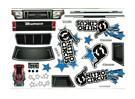 Decal set - Nitro Circus Basher 1/8 Schaal Monster Truck