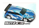 BLITZ C30 1/10 Mini of 1/12 EP High Roof Sedan Body Shell (210mm) (0.8mm)