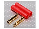 HXT 4mm Goud Connector w / Protector (10st / set)