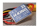 H-KING 35A Fixed Wing Brushless ESC w / XT60 3.5mm Bullets.