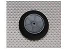 Light Foam Wheel Diam: 50, Breedte: 18,5 mm (5 stuks / zak)