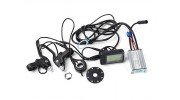 "E-Bike Conversion Kit for 26"" Bikes (PAS Front Wheel Drive) (36V/8.8A)  (UK Plug) - battery and brakes"
