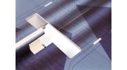 H-King J-20 - Glue-N-Go - 5mm Foamboard PP 650mm (Kit) - motor area