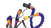 Turnigy Six Arm Soldering Station (w/USB Fan) - arms