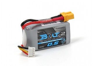 Turnigy Bolt V2 500mAh 3S 65~130C High Voltage Lipo Pack