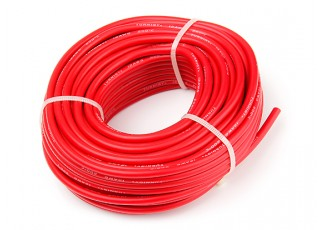 Turnigy High Quality 12AWG Silicone Wire 15m (Red)
