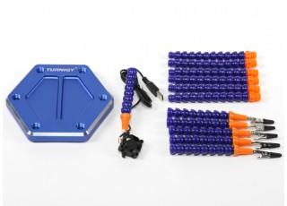 Turnigy Six Arm Soldering Station (w/USB Fan) - kit
