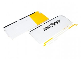 Avios BushMule - Outer Wing Set w/Stickers and LEDs (Yellow/Grey)
