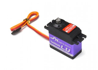 JX BLS6028 Brushless Metal Gear High Torque Digital Servo 28.3kg/0.12sec/60g with lead