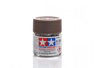 Tamiya X-33 Gloss Bronze Mini Acrylic Paint (10ml)