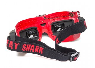 FatShark Attitude V4 10th Anniversary Edition Headset - rear view