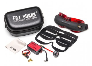 FatShark Attitude V4 10th Anniversary Edition Headset - package