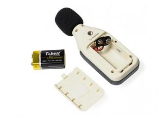 HobbyKing Digital Sound Level Meter - battery