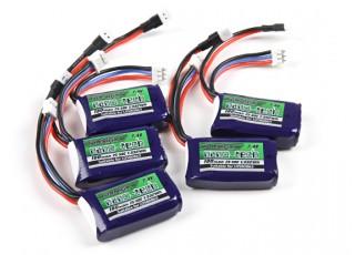 Turnigy nano-tech 180mAh 2S 25C LiPoly Pack (Compatible LOSB0863)2