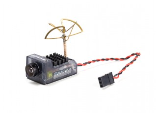 Quanum FPVMe HD Mini Camera w/40CH 5.8GHz 25~200mW VTX (Clover Antenna)
