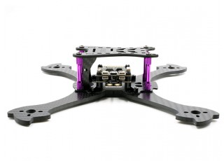 GEP-Mark1 210mm FPV Racing Drone Frame Kit - decks