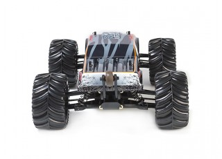 JLBRacing Cheetah 1/10 4WD Brushless Off-road Truggy (RTR) - rear