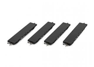 NX17K Flat Car (HO Scale - 4 Pack) Set 3