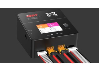 iSDT D2 Smart Balance Charger - front view