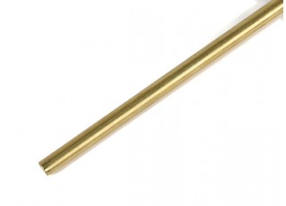 "K&S Precision Metals Brass Rod 5/32"" x 36"" (Qty 1)"
