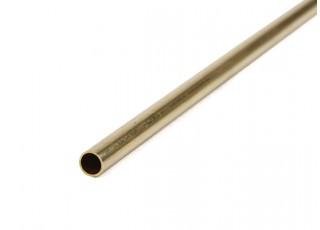 K&S Precision Metals Brass Round Stock Tube 6mm OD x 0.45mm x 1000mm (Qty 1)