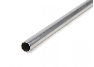 K&S Precision Metals Aluminum Stock Tube 7mm OD x 0.45mm x 1000mm (Qty 1)