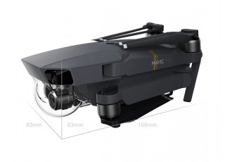 DJI Mavic PRO - folded side
