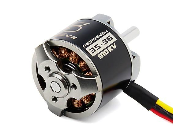 PROPDRIVE v2 3536 910KV Brushless Outrunner Motor