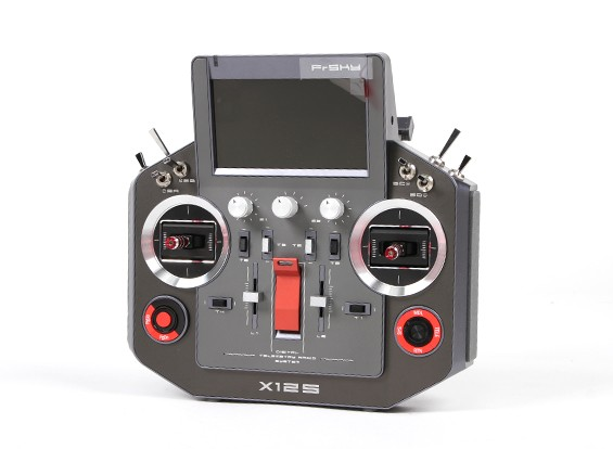 FrSky Horus X12S Accst 2.4GHz Digital Telemetry Radio System (Mode 1) (Space Grey) (US Charger)